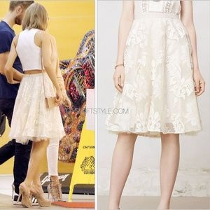 Anthropologie Emeline Tulle Skirt ASO Taylor Swift